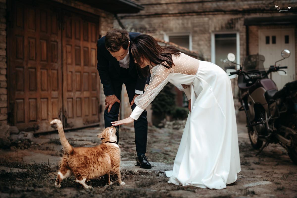 nesuvaidinta vestuviu fotosesija