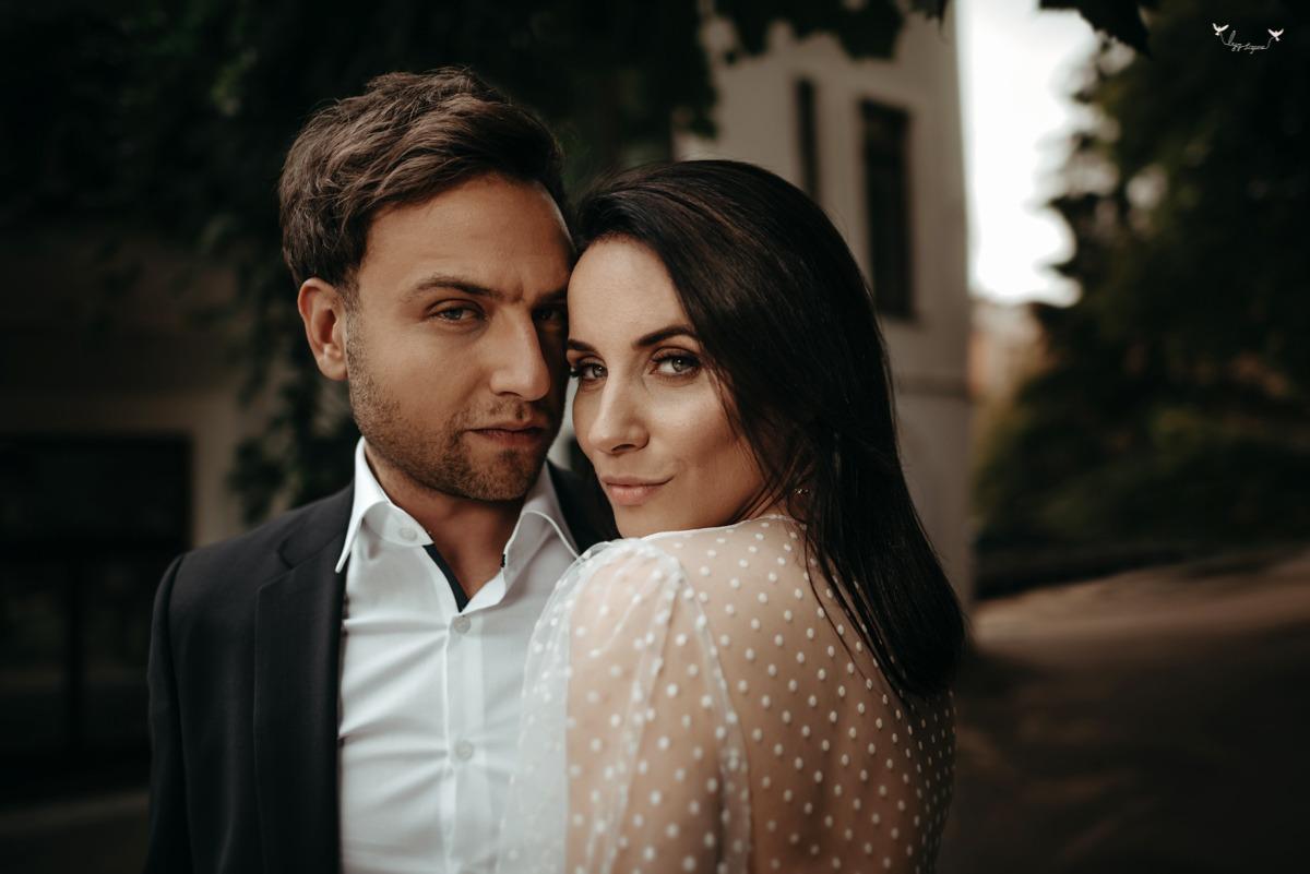 seksuali vestuviu fotosesija