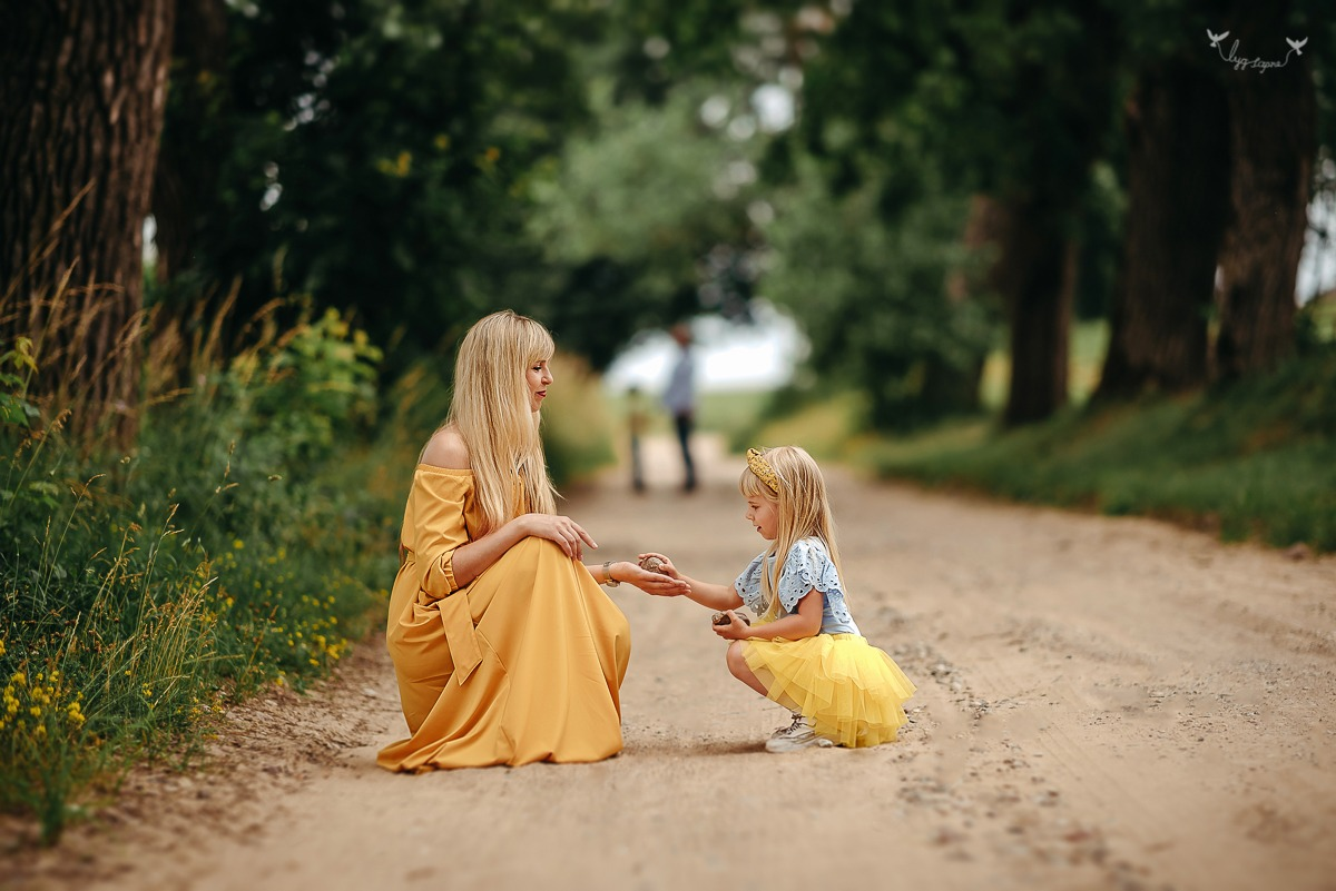Žaisminga šeimos fotosesija