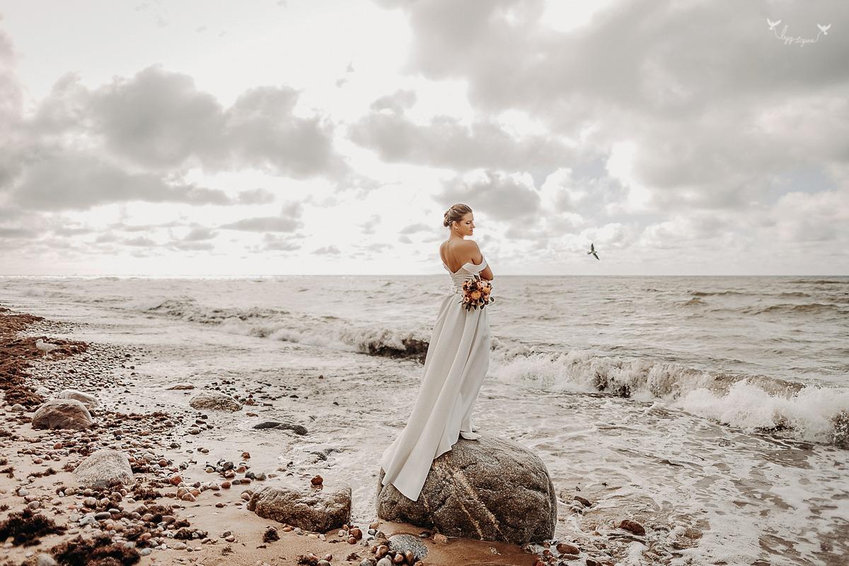 Vestuviu fotosesija Karklėje