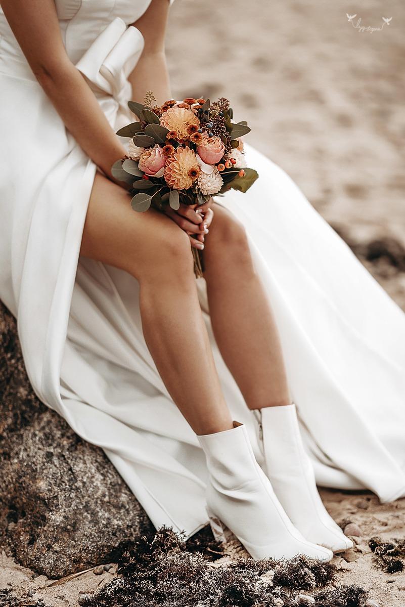 Vestuviu fotosesija Karkleje